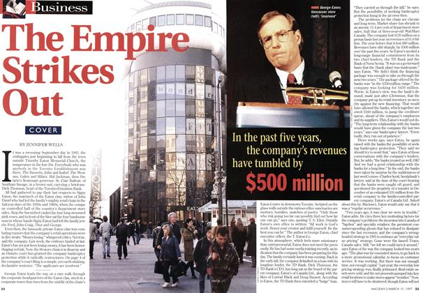 Article Preview: The Empire Strikes Out, March 1997 | Maclean's