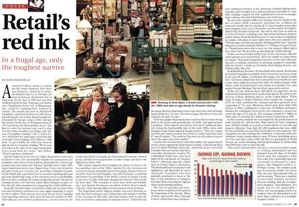 Article Preview: Retail's red ink, March 1997 | Maclean's