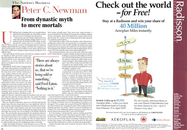 Article Preview: From dynastic myth to mere mortals, March 1997 | Maclean's