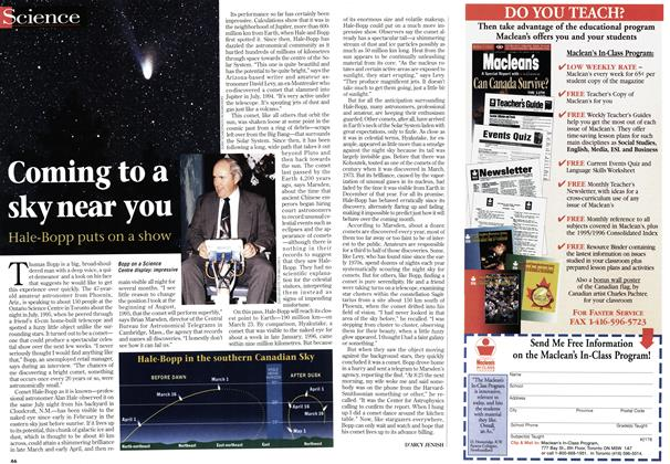 Article Preview: Coming to a sky near you, March 1997 | Maclean's