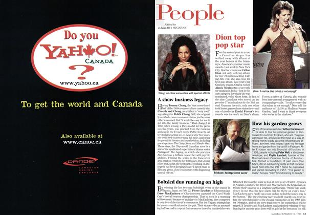 Article Preview: People, March 1997 | Maclean's