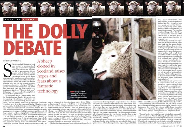 Article Preview: THE DOLLY DEBATE, March 1997 | Maclean's