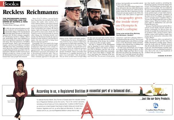 Article Preview: Reckless Reichmanns, March 1997 | Maclean's