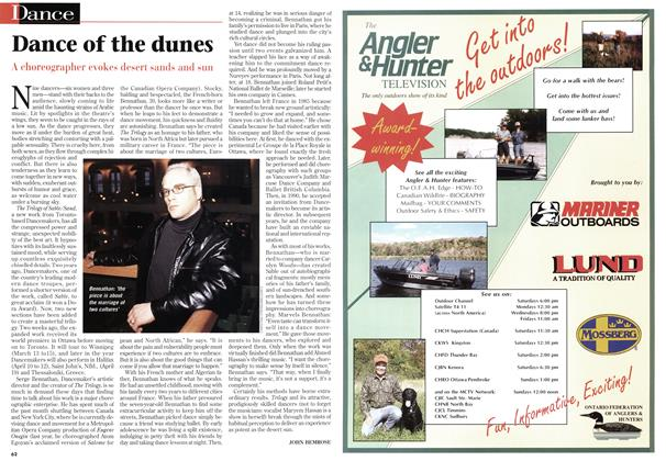 Article Preview: Dance of the dunes, March 1997 | Maclean's