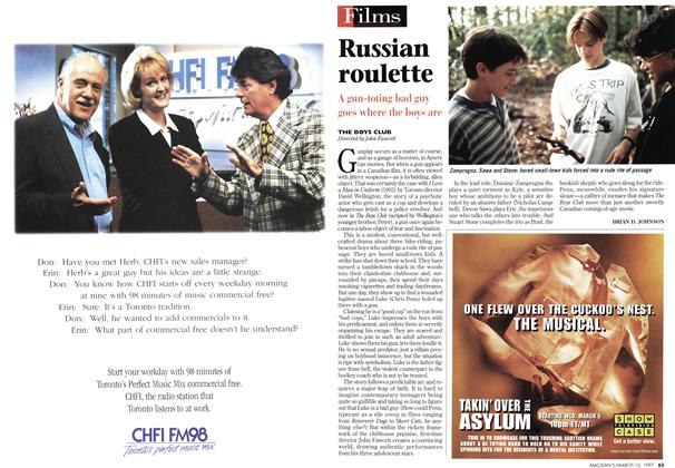 Article Preview: Russian roulette, March 1997 | Maclean's