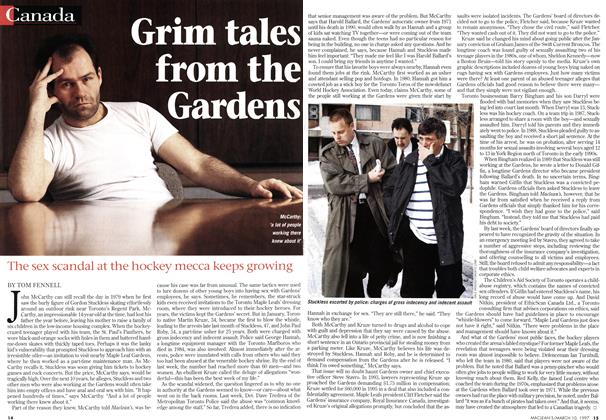 Article Preview: Grim tales from the Gardens, March 1997 | Maclean's