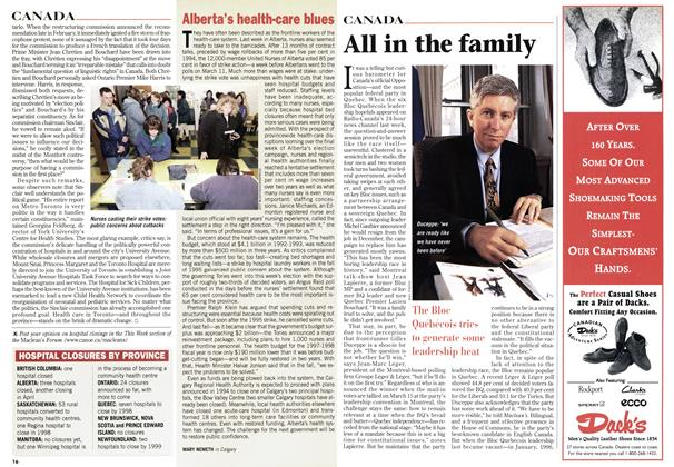 Article Preview: All in the family, March 1997 | Maclean's