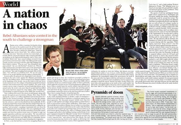 Article Preview: A nation in chaos, March 1997 | Maclean's