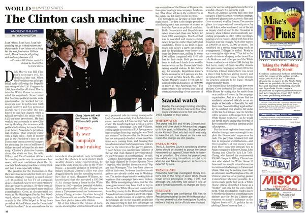 Article Preview: The Clinton cash machine, March 1997 | Maclean's