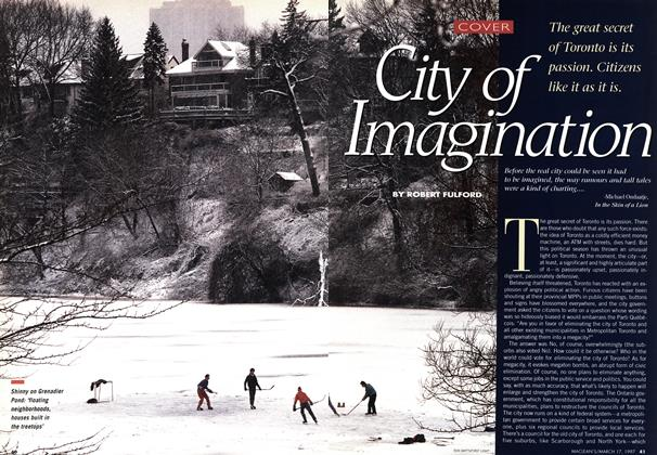 Article Preview: City of Imagination, March 1997 | Maclean's
