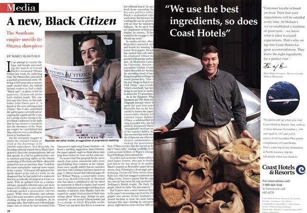 Article Preview: A new, Black Citizen, March 1997 | Maclean's