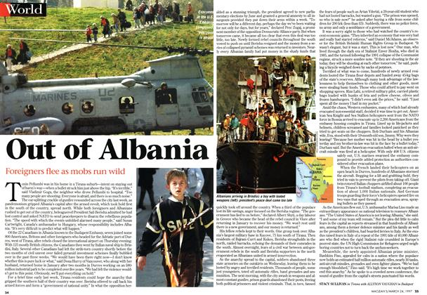 Article Preview: Out of Albania, March 1997 | Maclean's