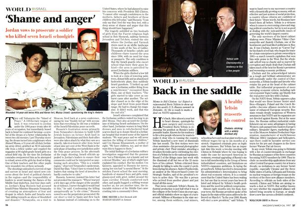 Article Preview: Back in the saddle, March 1997 | Maclean's