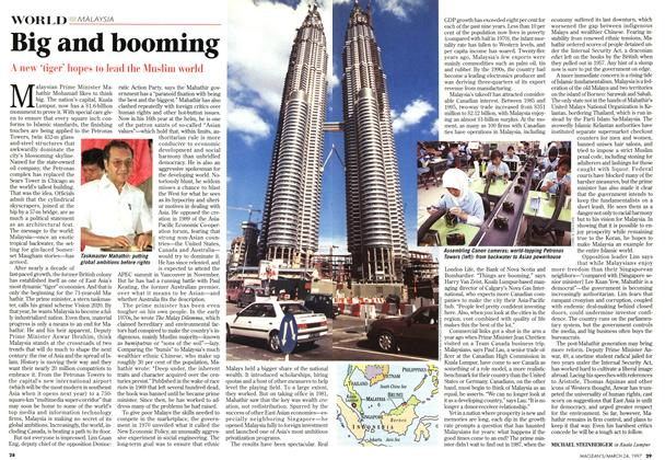 Article Preview: Big and booming, March 1997 | Maclean's