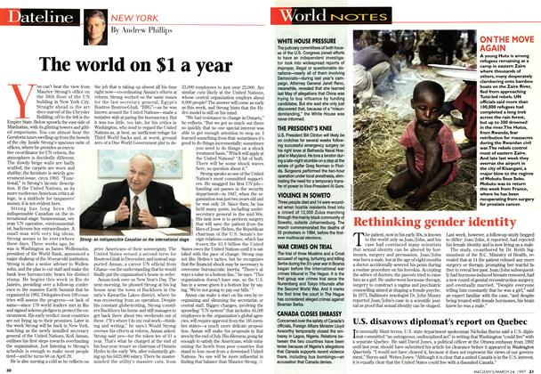 Article Preview: The world on $1 a year, March 1997 | Maclean's