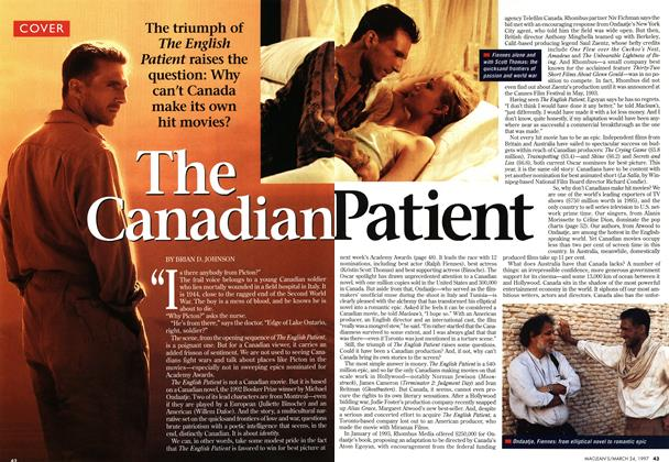 Article Preview: The Canadian Patient, March 1997 | Maclean's