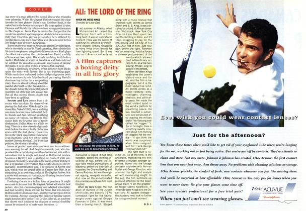 Article Preview: ALI: THE LORD OF THE RING, March 1997 | Maclean's