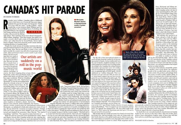 Article Preview: CANADA'S HIT PARADE, March 1997 | Maclean's