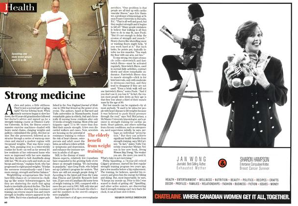 Article Preview: Strong medicine, March 1997 | Maclean's