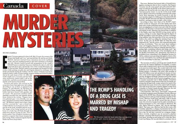 Article Preview: MURDER MYSTERIES, March 1997 | Maclean's
