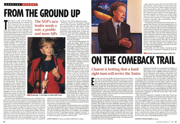 Article Preview: ON THE COMEBACK TRAIL, March 1997 | Maclean's