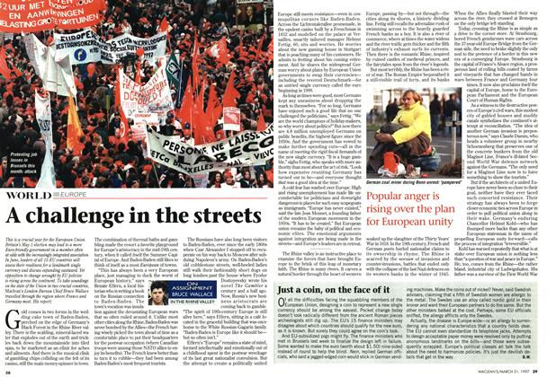 Article Preview: A challenge in the streets, March 1997 | Maclean's