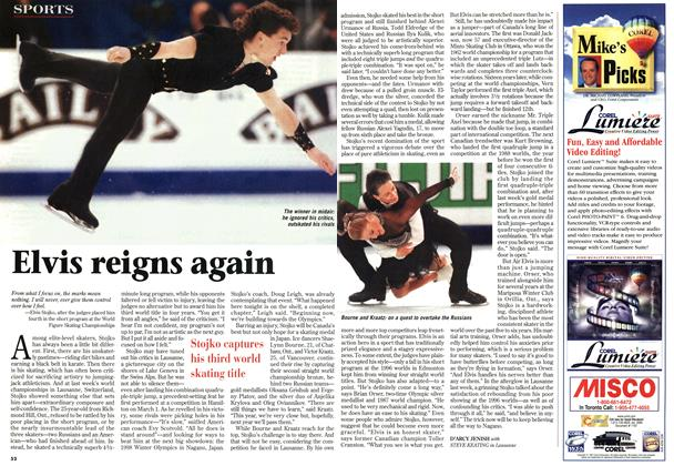 Article Preview: Elvis reigns again, March 1997 | Maclean's