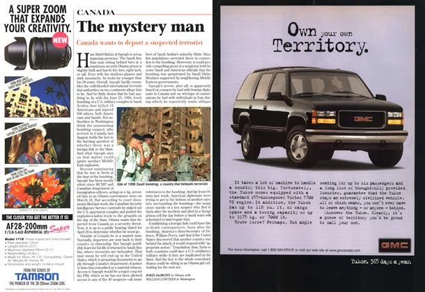 Article Preview: The mystery man, April 1997 | Maclean's
