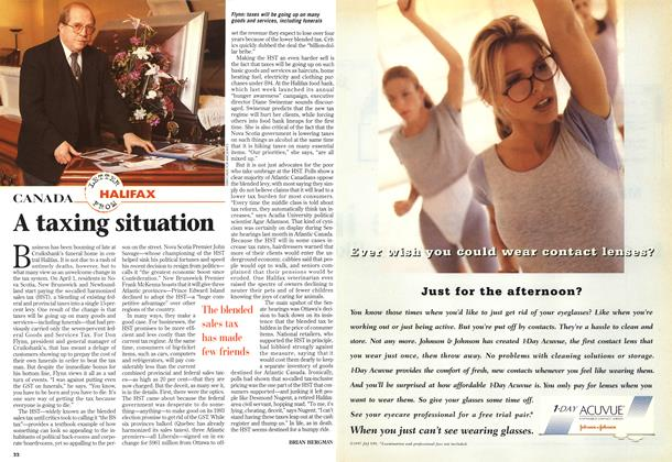 Article Preview: A taxing situation, April 1997 | Maclean's