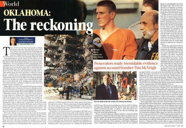 Article Preview: OKLAHOMA: The reckoning, April 1997 | Maclean's