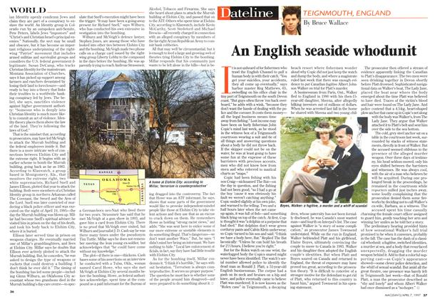 Article Preview: An English seaside whodunit, April 1997 | Maclean's