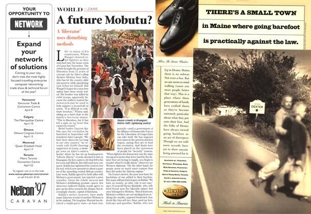 Article Preview: A future Mobutu?, April 1997 | Maclean's