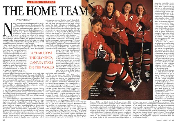 Article Preview: THE HOME TEAM, April 1997 | Maclean's