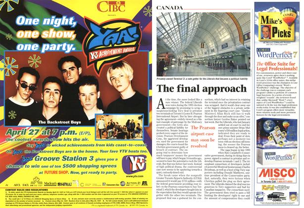 Article Preview: The final approach, April 1997 | Maclean's