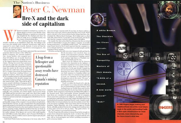 Article Preview: Bre-X and the dark side of capitalism, April 1997 | Maclean's