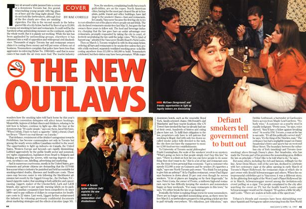 Article Preview: THE NEW OUTLAWS, April 1997 | Maclean's