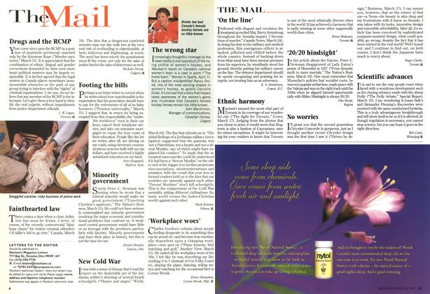 Article Preview: TheMail, April 1997 | Maclean's