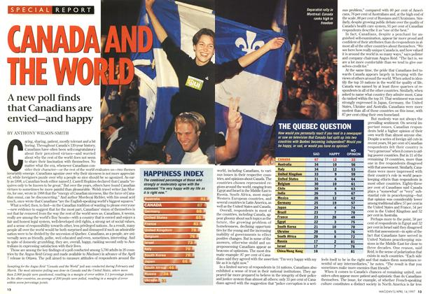 Article Preview: CANADA AND THE WORLD, April 1997 | Maclean's