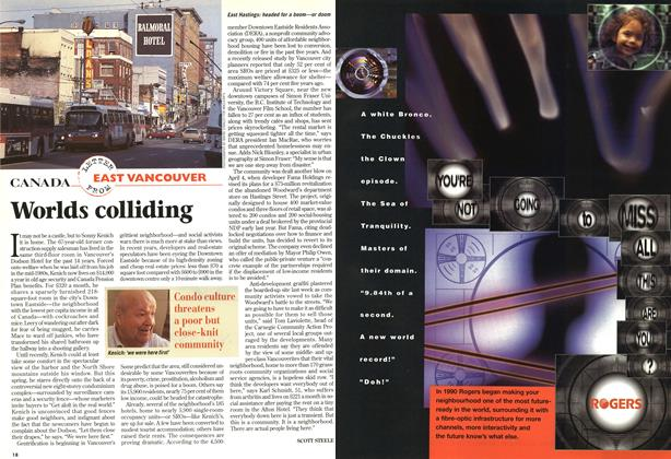 Article Preview: Worlds colliding, April 1997 | Maclean's
