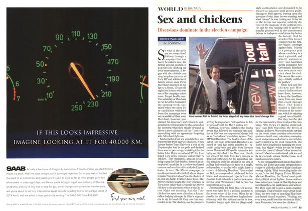 Article Preview: Sex and chickens, April 1997 | Maclean's