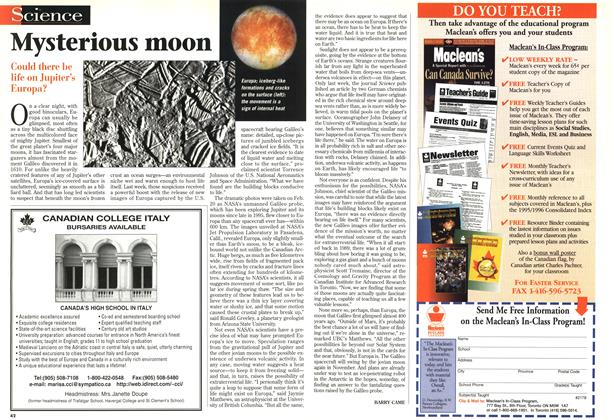 Article Preview: Mysterious moon, April 1997 | Maclean's