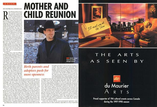 Article Preview: MOTHER AND CHILD REUNION, April 1997 | Maclean's