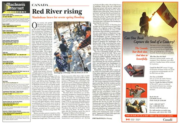 Article Preview: Red River rising, April 1997 | Maclean's