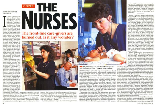 Article Preview: THE NURSES, April 1997 | Maclean's