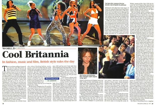Article Preview: Cool Britannia, April 1997 | Maclean's