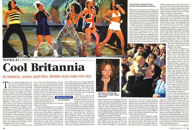 Article Preview: Cool Britannia, April 1997 | Maclean's