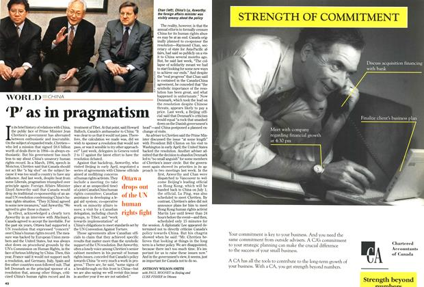 Article Preview: 'P' as in pragmatism, April 1997 | Maclean's