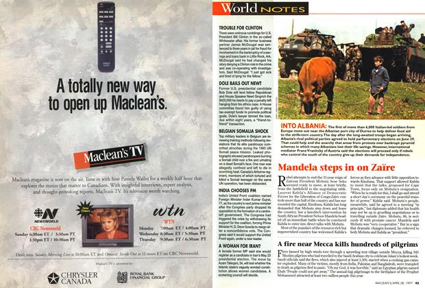 Article Preview: World NOTES, April 1997 | Maclean's