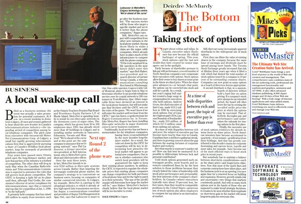 Article Preview: The Bottom Line, April 1997 | Maclean's