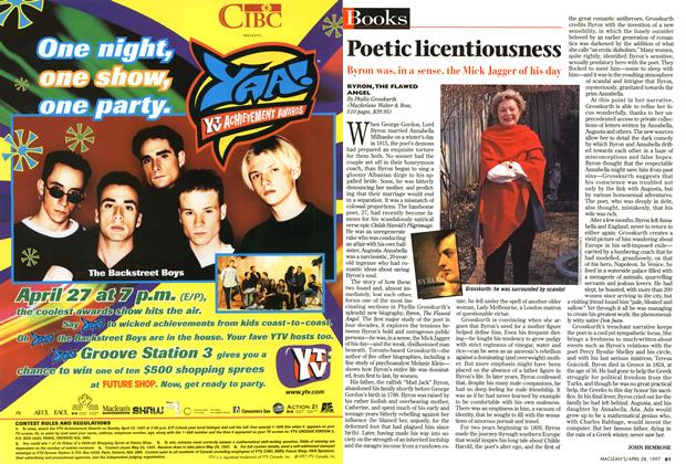 Article Preview: Poetic licentiousness, April 1997 | Maclean's